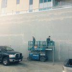Concrete Wall Repair on Ellis